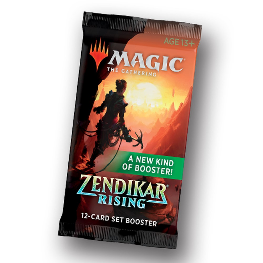 MTG: Бустер ВЫПУСКА издания Zendikar Rising на английском языке