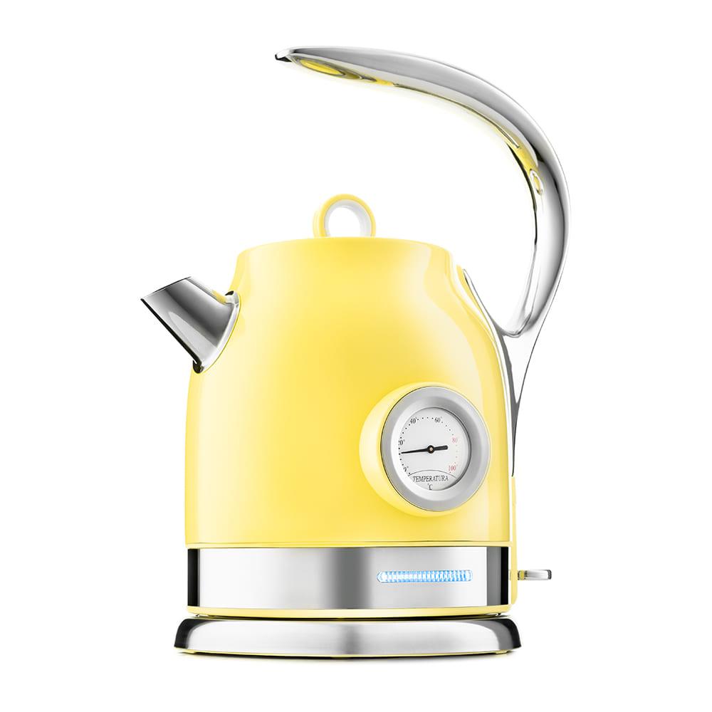 Чайник KitFort КТ-694-3 (желтый)