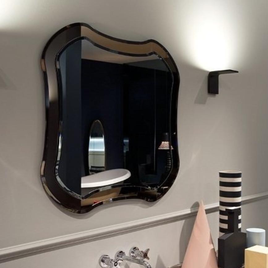 Квадратное зеркало Antonio Lupi Luxor без подсветки