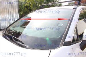 Дефлекторы на водосток лобового стекла, а/м с рейлингами