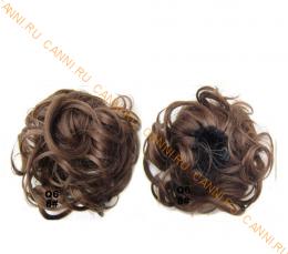 """Искусственные термостойкие волосы - Шиньон """"Пучок"""" #008, вес 60 гр"""