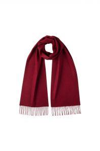 однотонный кашемировый шарф (100% драгоценный кашемир), цвет вина Мерло , CLASSIC CASHMERE SCARF | MERLOT высокая плотность 7