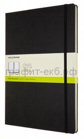 Книжка зап.Moleskine А4 Classic нелинованная черная QP112