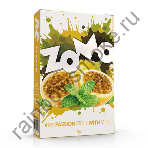 Zomo Classics Line 50 гр - Passion Fruit With Mint (Маракуйя с Мятой)