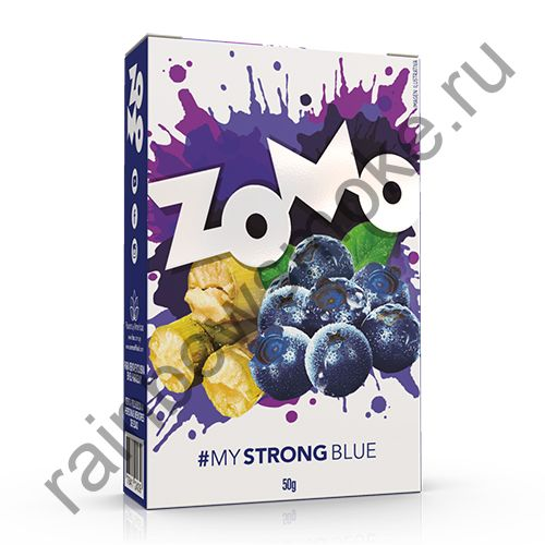 Zomo Strong Line 50 гр - Blue (Черника)