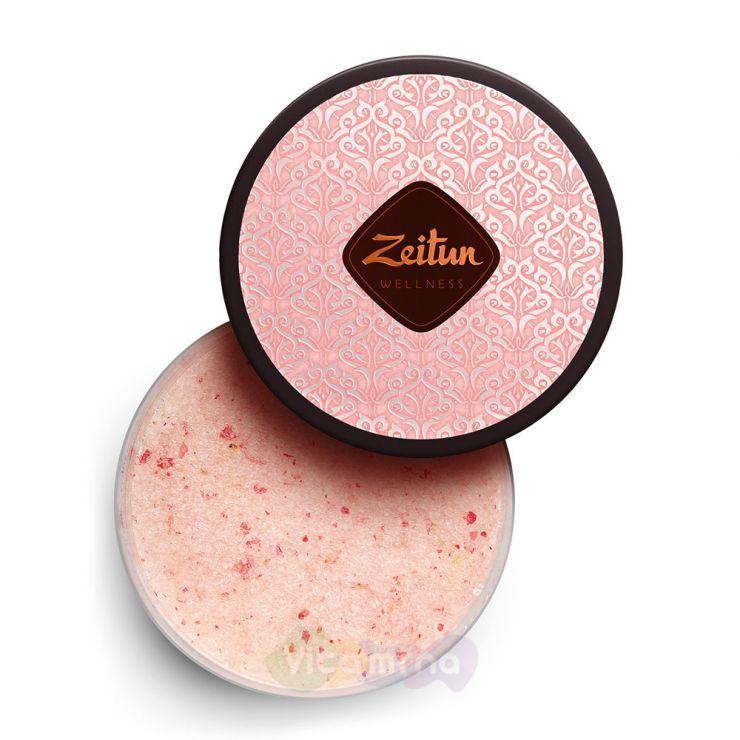 """Zeitun Аромасоль для ванн """"Ритуал нежности"""" с дамасской розой и маслом персика"""