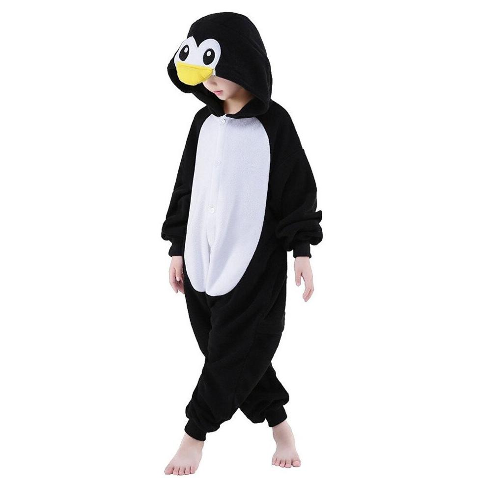 Детская Пижама Кигуруми Пингвин