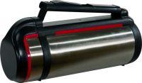 Термос для напитков Steel Red Line с кнопкой
