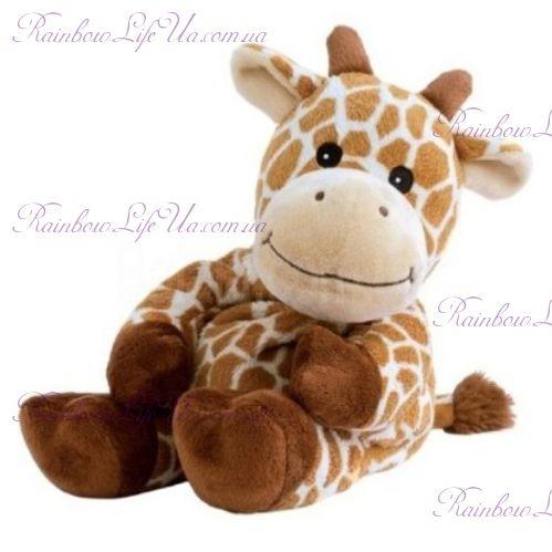 "Игрушка грелка жираф ""Warmies"""