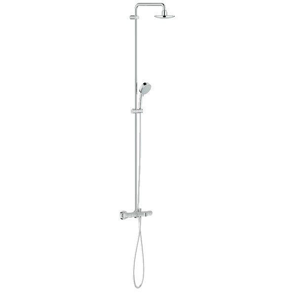 Душевая система Grohe Tempesta Cosmopolitan 26223000 с термостатом для ванны ФОТО