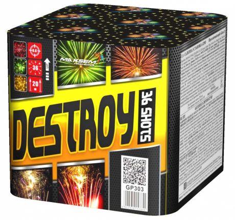 """Батарея салютов """"DESTROY"""" 36 залпов"""
