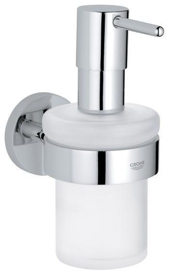 Дозатор для жидкого мыла Grohe Essentials 40394 с держателем 40369 ФОТО