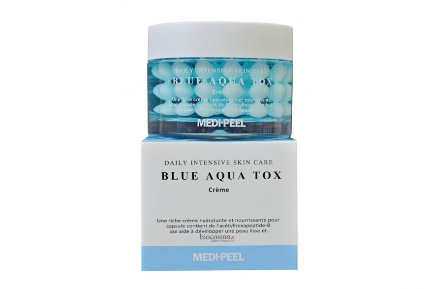 Крем с пептидными капсулами Medi-Peel Blue Aqua Tox Creme