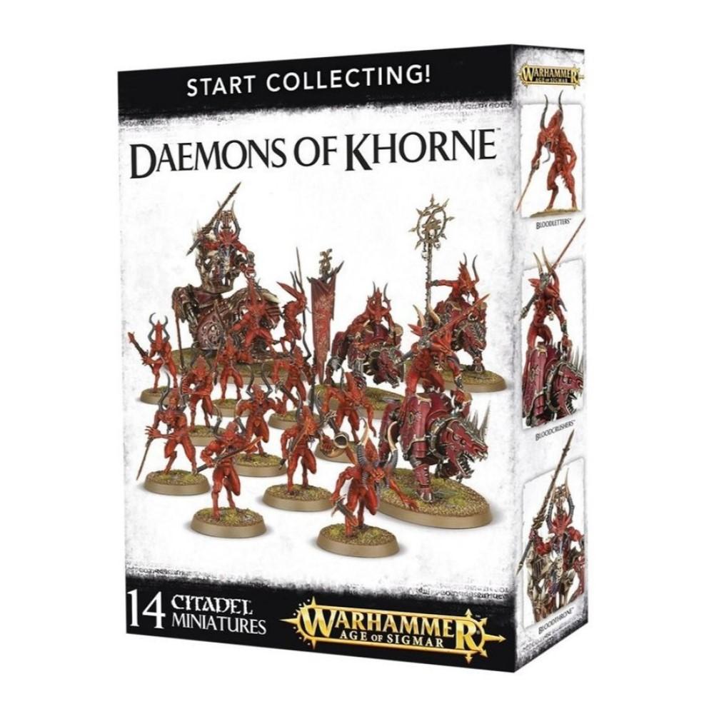 Миниатюры Warhammer 40000: Start Collecting! Daemons of Khorne