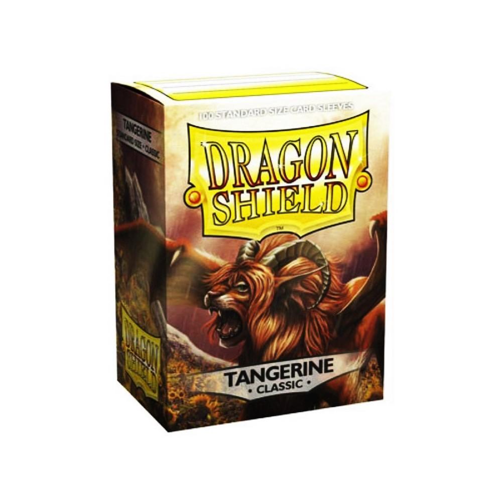 Dragon Shield - Протекторы Tangerine 100 штук