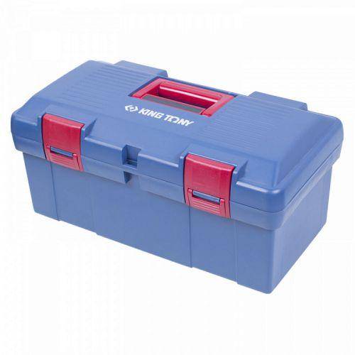 Ящик инструментальный, 445X240X206мм, 2 отсека, пропилен KING TONY 87407