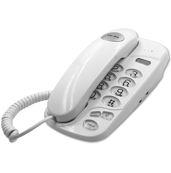Телефонный аппарат teXet TX-238 цвет белый