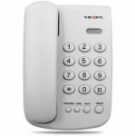Телефонный аппарат teXet TX-241 цвет светло-серый