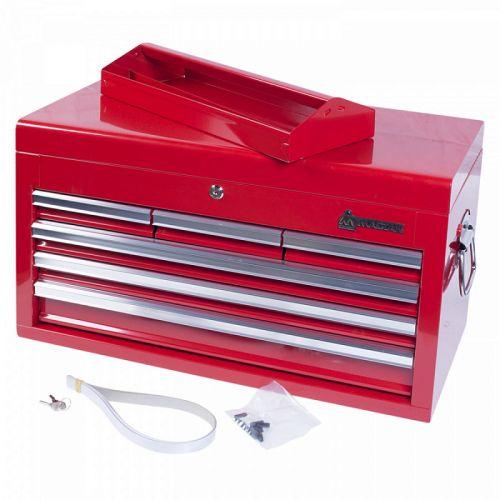 Ящик инструментальный, 6 полок, красный МАСТАК 511-06570R