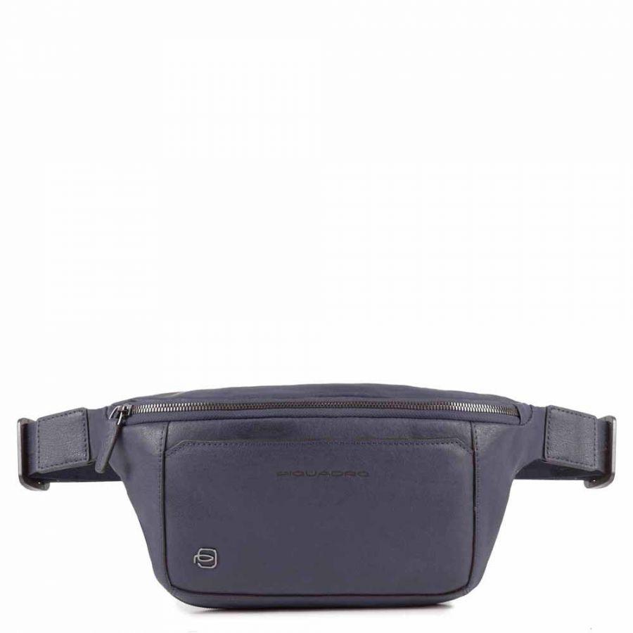 Поясная сумка Piquadro CA2174B3/BLU4 мужская серо-синяя