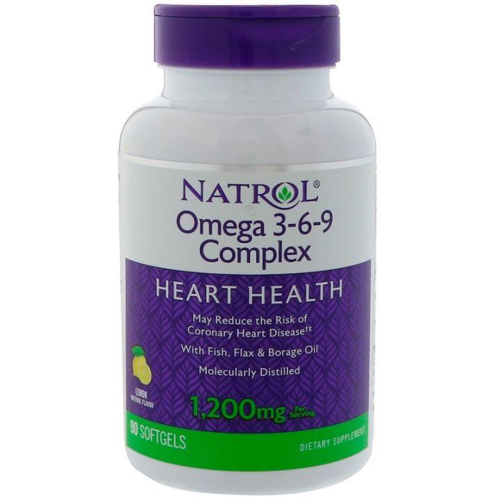 Natrol - Omega 3-6-9 Complex