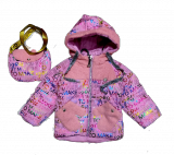 Зимняя детская куртка с сумкой оптом | 6 шт