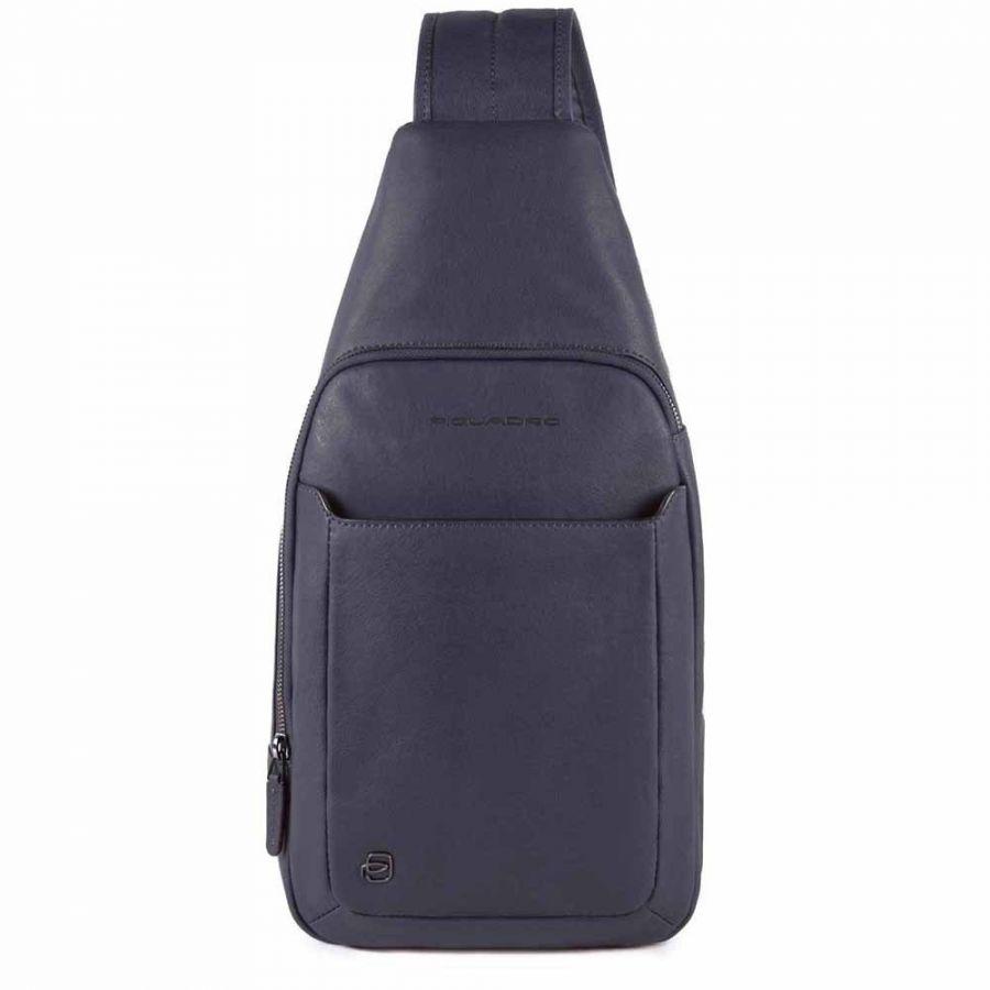 Рюкзак с одной лямкой Piquadro CA4827B3/BLU4 серо-синяя