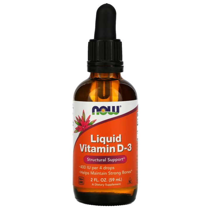 NOW - Liquid Vitamin D3