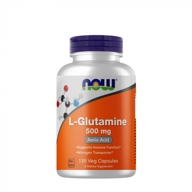 NOW - L-Glutamine 500 mg