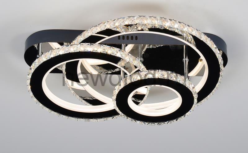 Управляемый светодиодный светильник Brilliance 2876 120W-30м² 7200Lm 480*380mm пульт Oreol