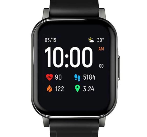 Смарт-часы Xiaomi Haylou LS02 черные (Global)