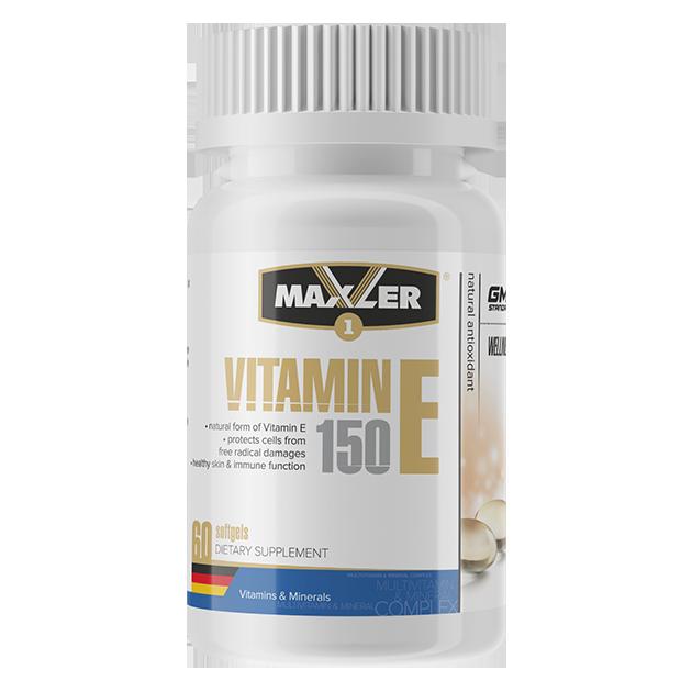 Maxler - Vitamin E 150mg