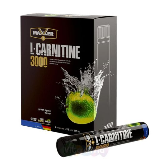 Maxler L-Carnitine Comfortable Shape Ampule 3000, 7 х 25 мл