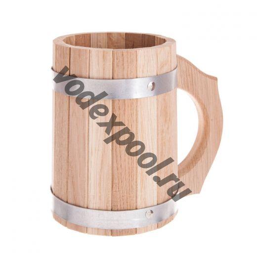 Кружка деревянная 0,5 л