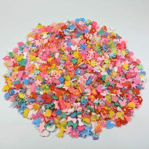 """Кабошон, пластик, """"МИКС"""", размер  16-22мм (1уп = 50шт), Арт. КБП0421"""