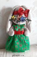 Платье с повязкой на голову