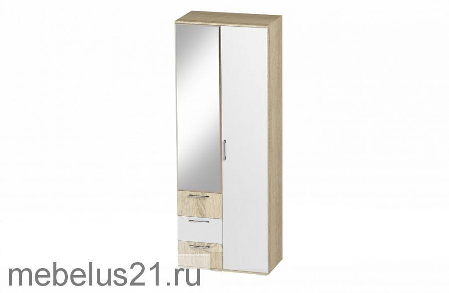 Шкаф 2-х ств.с ящиками Белладжио