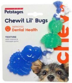 """Petstages Mini """"ОРКА жуки"""" Игрушка для собак  15 см"""