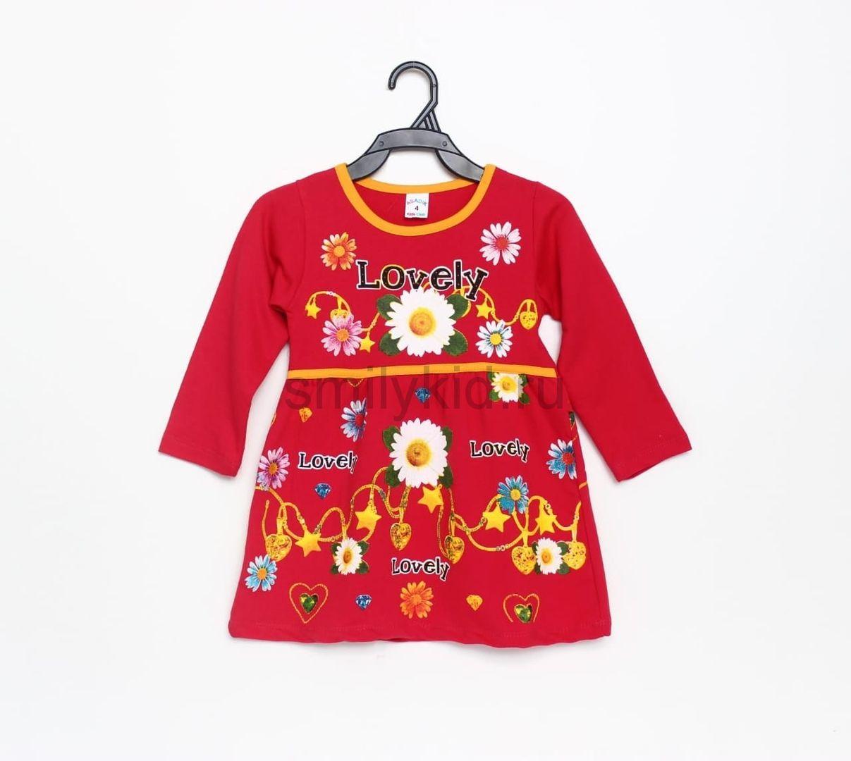 Платье детское Lovely оптом | 5 шт