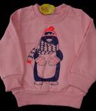 Детская кофта с начесом Пингвин оптом | 3 шт