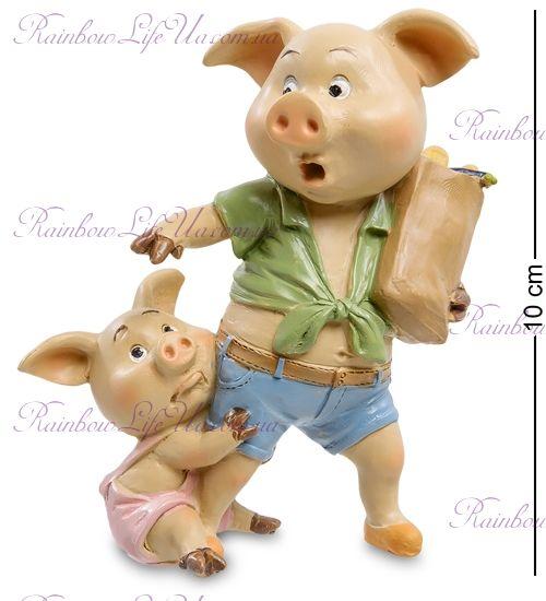 "Фигурка свинка ""Семейный праздник"""