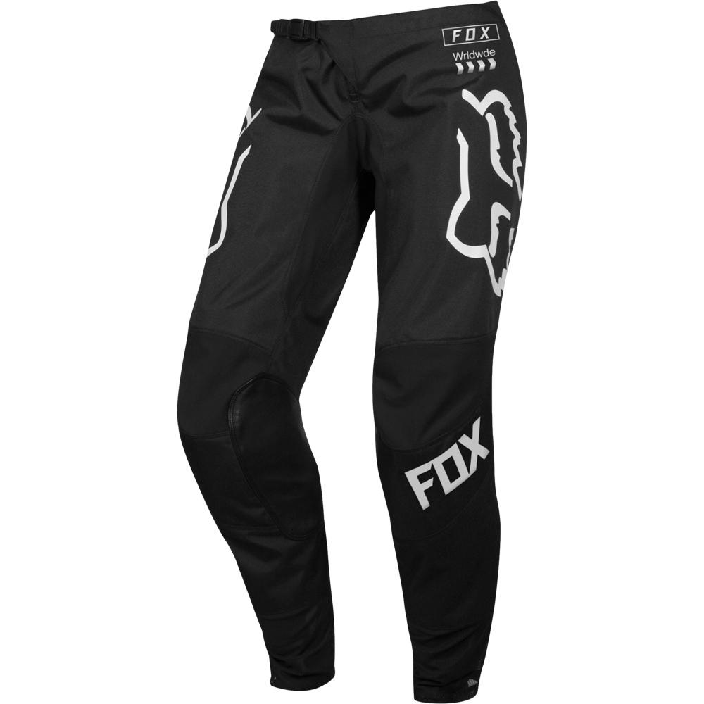 Fox WMN 180 Mata Drip Black/White штаны женские, черно-белые
