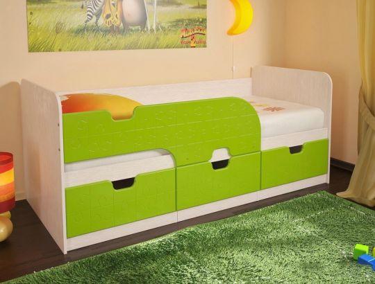 """Детская кровать """"Минима Лайм"""""""