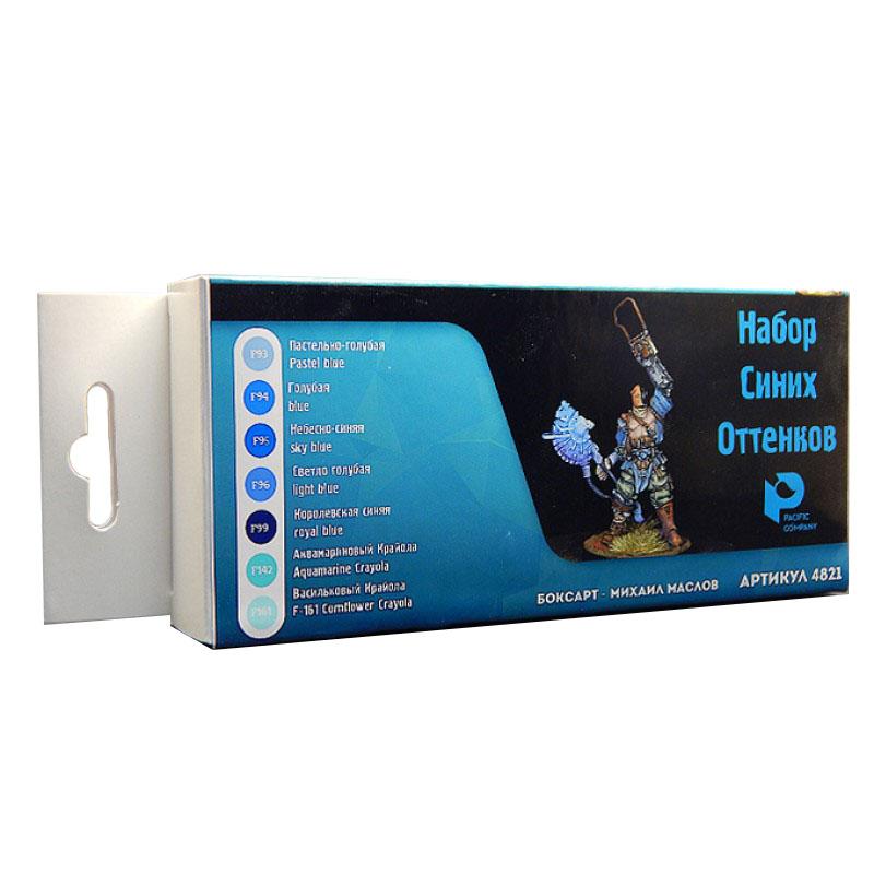 ACRYLIC Коллекция голубых оттенков