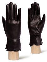 Черные перчатки ELEGANZZA