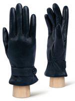 Кожаные синие перчатки LABBRA