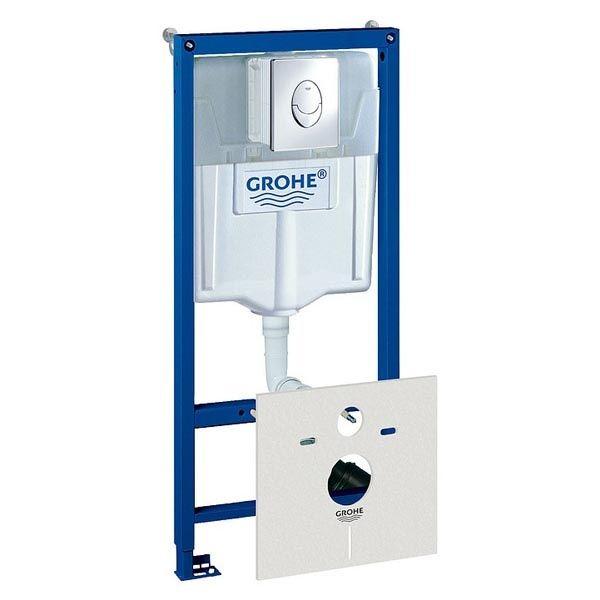 Система инсталляции для унитазов Grohe Rapid SL 38750001 4 в 1 с кнопкой смыва ФОТО
