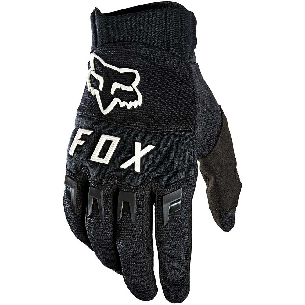 Fox 2021 Dirtpaw Black/White перчатки