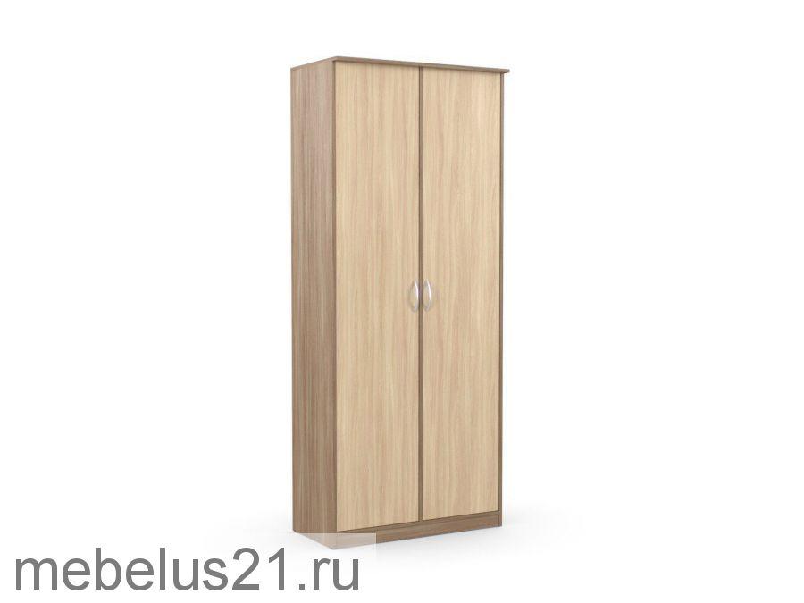 Шкаф 2-х створчатый Дуэт Люкс