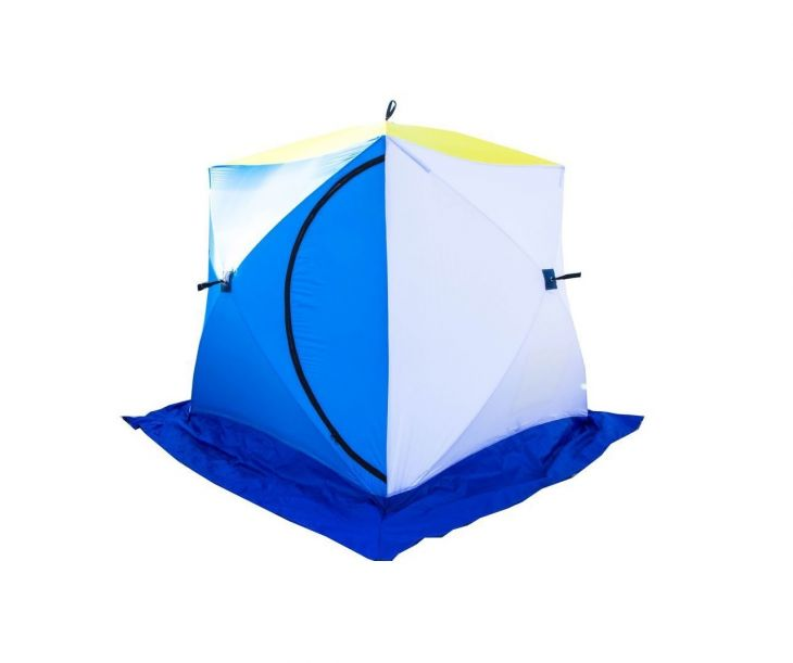 Палатка КУБ-2 трехслойная дышащая СТЭК 1,8*1,8*1,8